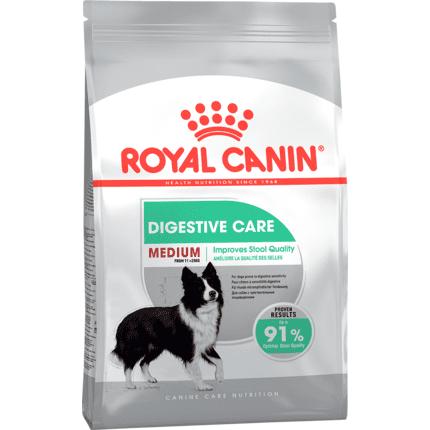 ROYAL CANIN MEDIUM DIGESTIVE CARE – сухой корм для взрослых собак средних пород с чувствительным пищеварением