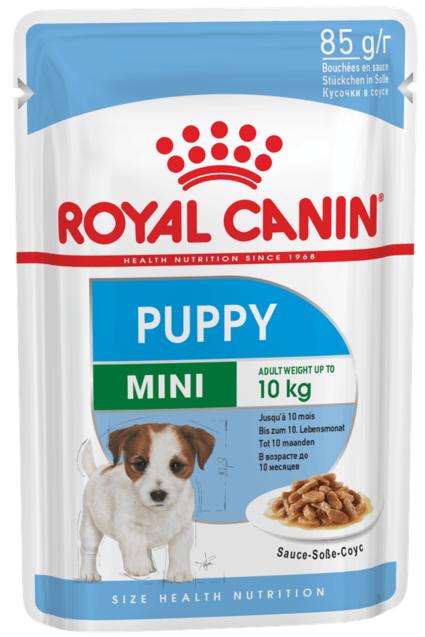 ROYAL CANIN MINI PUPPY – влажный корм для собак малых пород