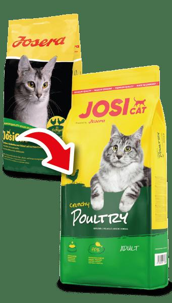 JosiCat Crunchy Poultry – сухой корм с курицей для взрослых котов