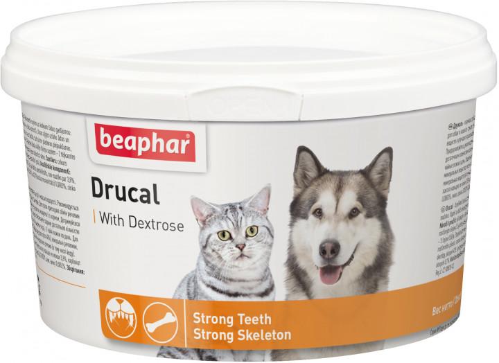 Beaphar Drucal – минеральная смесь для котов и собак с водорослями
