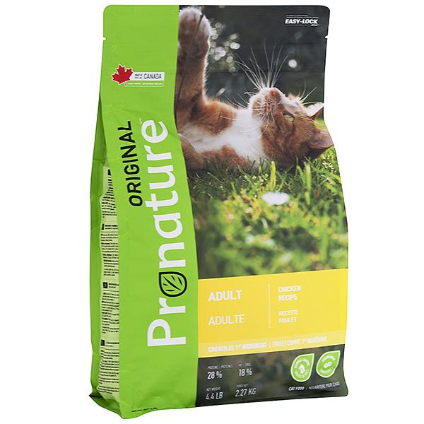 PRONATURE ORIGINAL CHIСKEN – сухой корм с курицей для взрослых котов