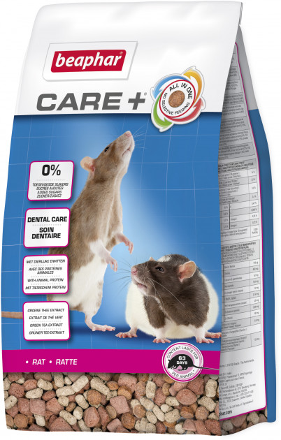Beaphar Care + Rat – корм для щурів