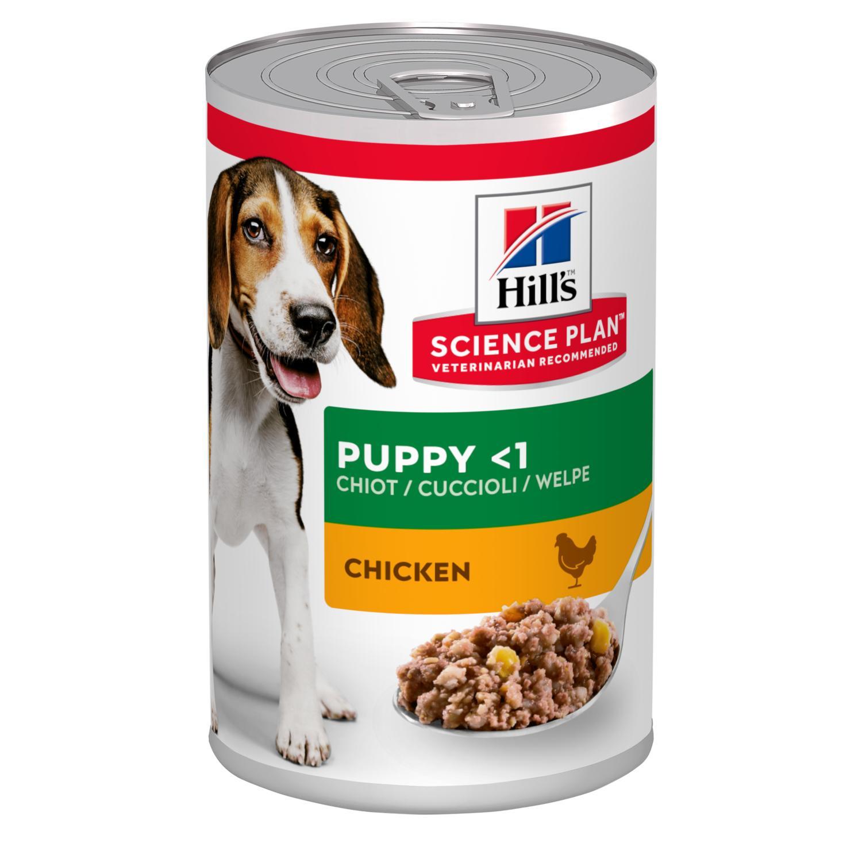 HILL'S Science Plan Puppy Chicken– влажный корм с курицей для щенков