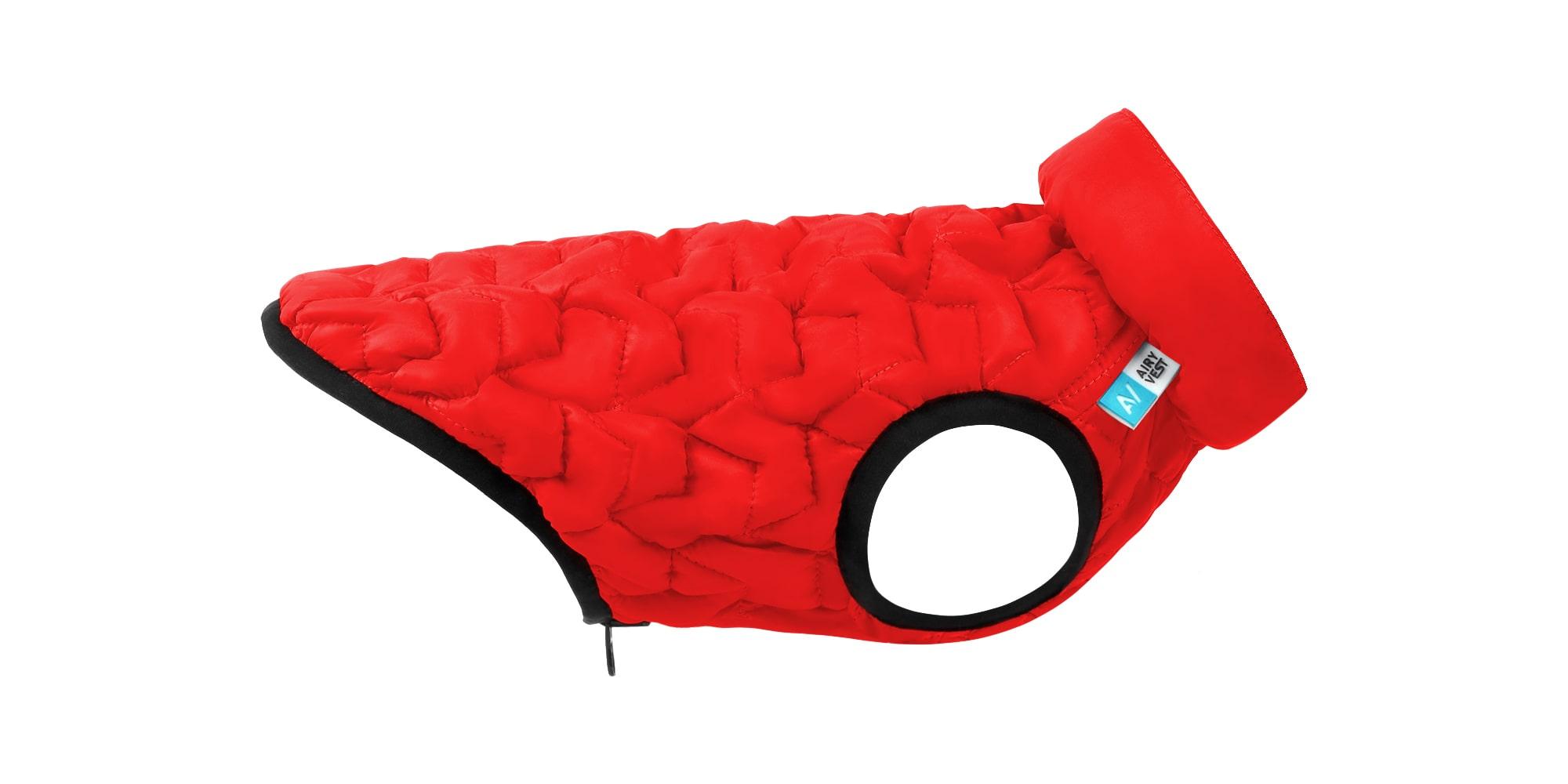 AiryVest UNI – двусторонняя эластичная куртка для собак, S 33