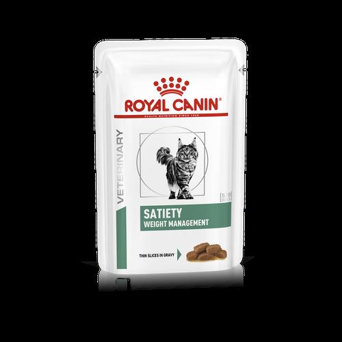 ROYAL CANIN SATIETY WEIGHT MANAGEMENT – лечебный влажный корм для котов, страдающих от избыточного веса