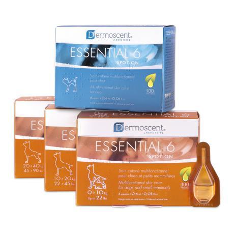 Dermoscent Essential 6 spot-on засіб по догляду за шкірою і шерстю кішок