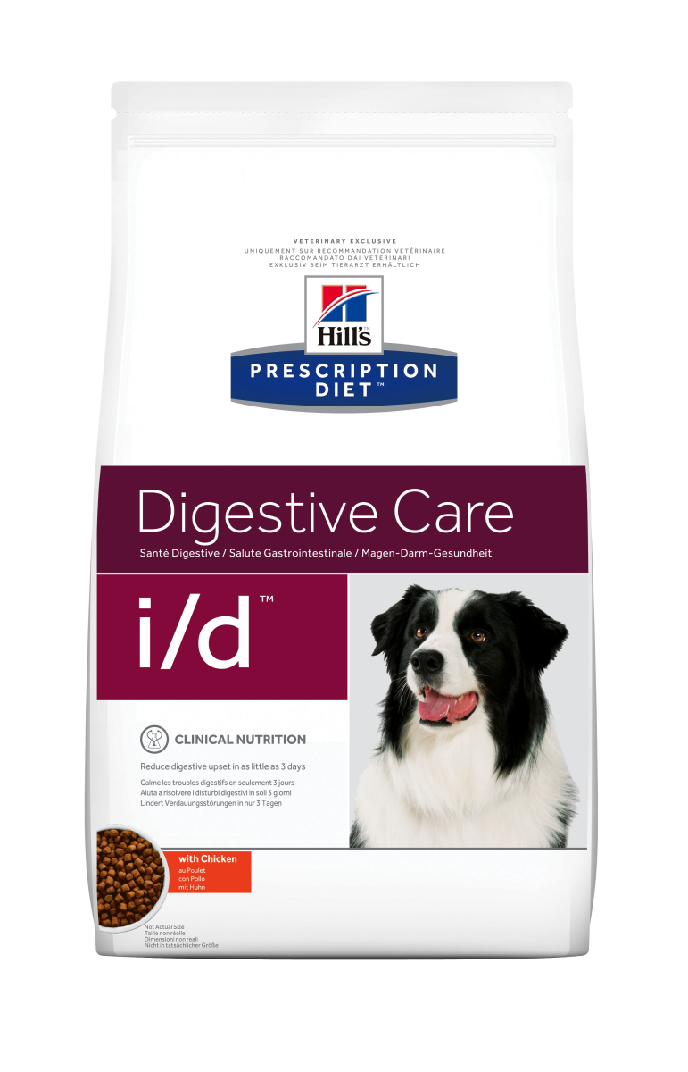 HILL'S PRESCRIPTION DIET I/D DIGESTIVE CARE – лікувальний сухий корм для собак з розладами шлунково-кишкового тракту