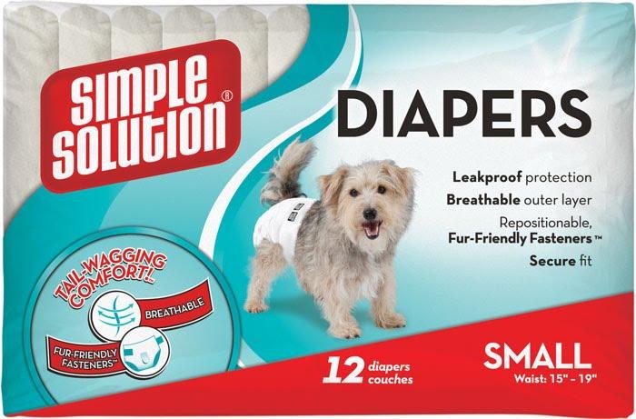Simple Solution Disposable Diapers Small – подгузники для собак малых пород