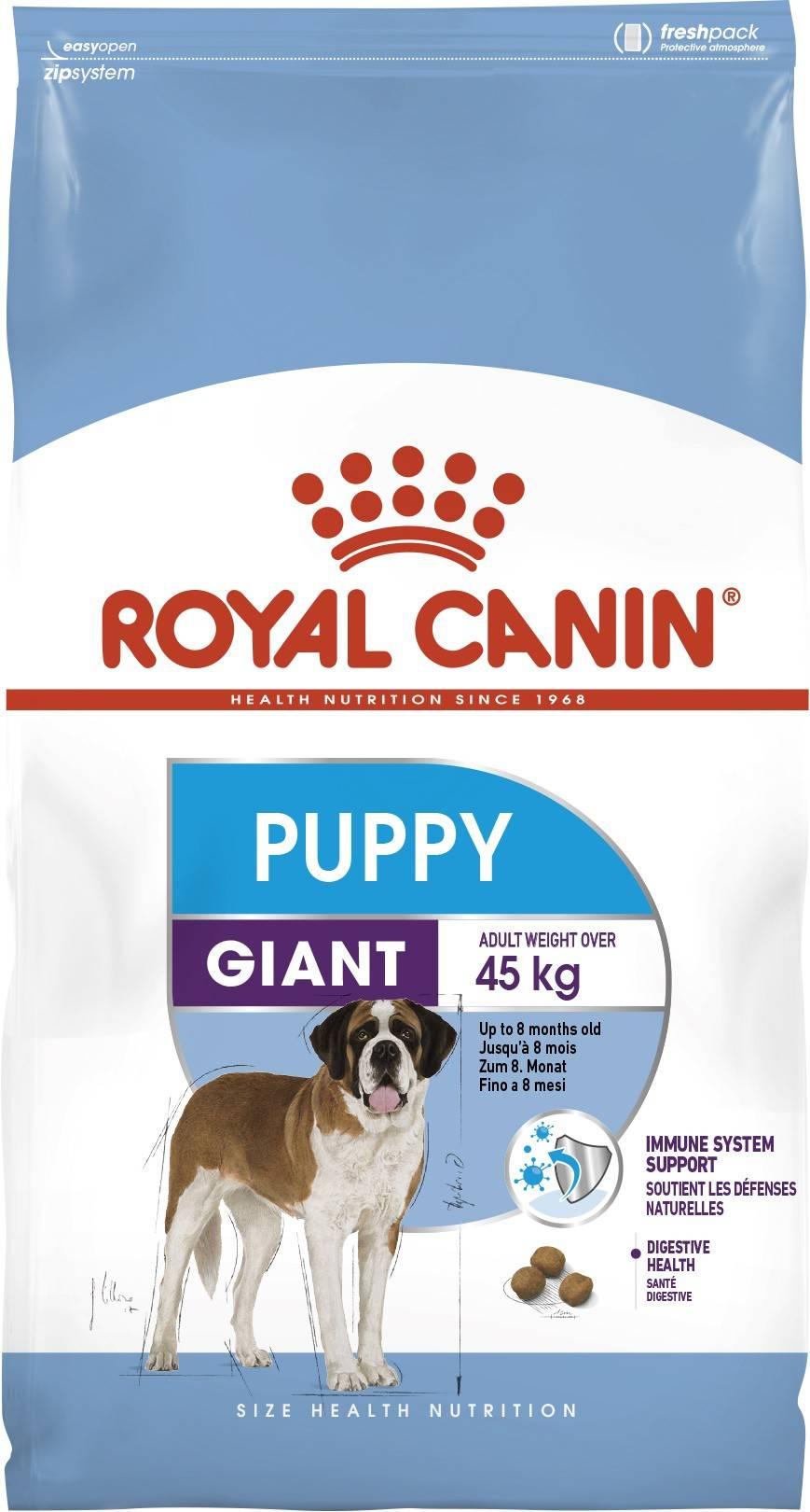 ROYAL CANIN GIANT PUPPY – сухой корм для щенков гигантских пород