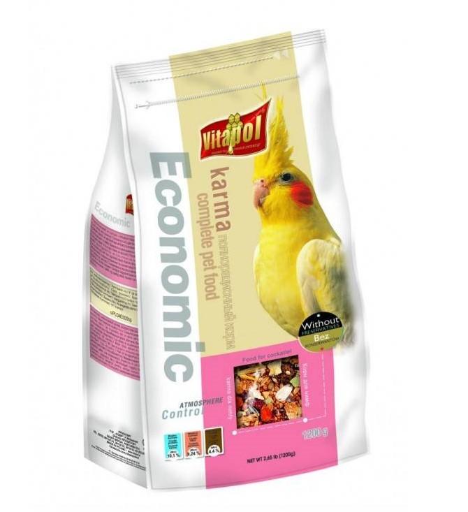 Vitapol Economic – корм для попугаев средних размеров