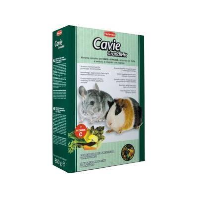 Padovan GrandMix CAVIE&CINCILLA – комплексний корм для морських свинок, шиншил і дегу, 20 кг