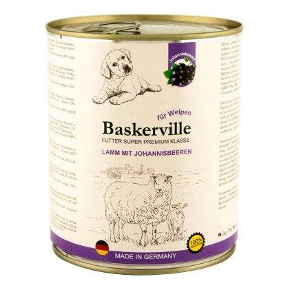 Baskerville вологий корм з ягням та смородиною для цуценят