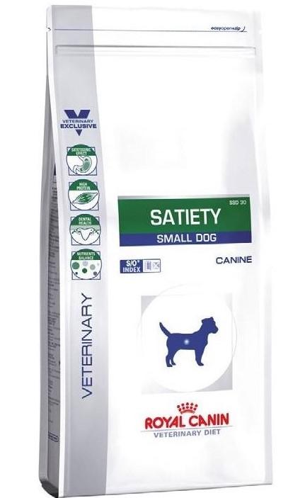 ROYAL CANIN SATIETY SMALL DOG – лечебный сухой корм для собак малых пород для контроля избыточного веса
