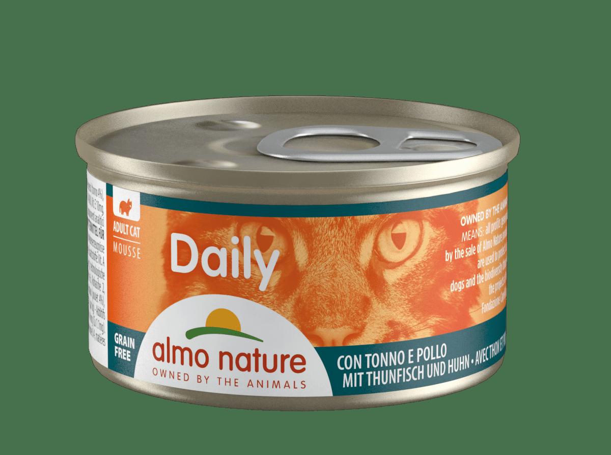 """Almo Nature """"Daily Menu"""" Tuna & Chicken – консервы для кошек с тунцом и курицей"""