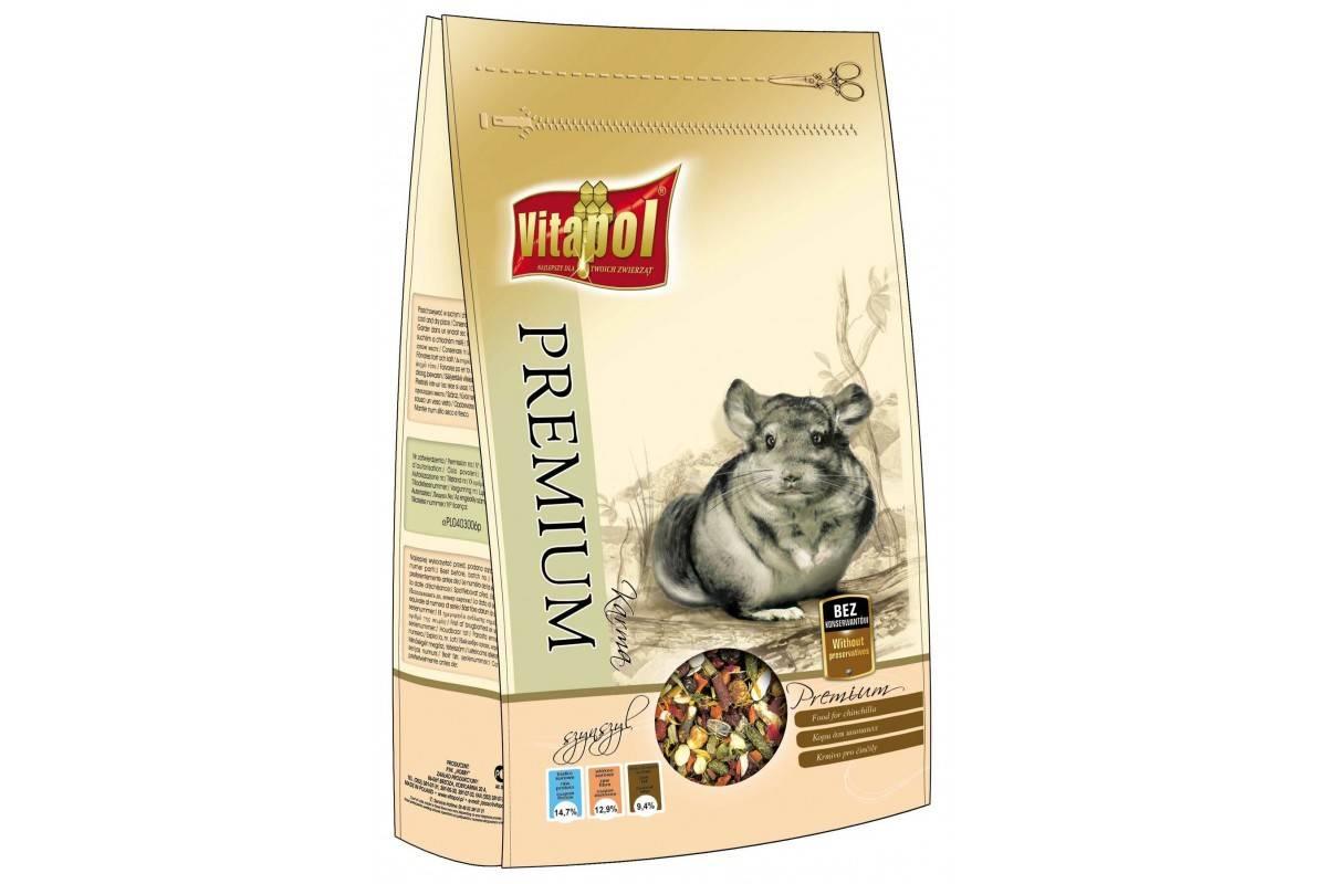 Vitapol Premium корм для шиншил