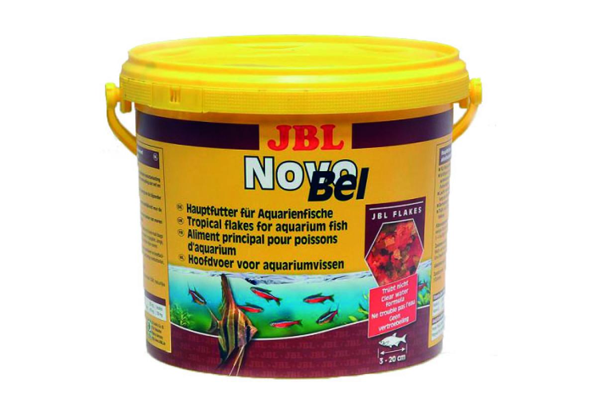 JBL NovoBel - основний корм у формі пластівців для акваріумних риб