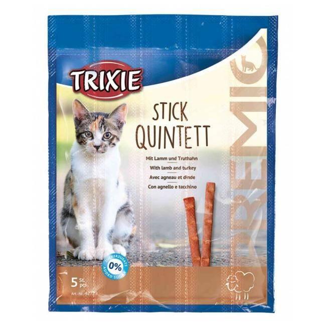 Trixie Premio Quadro-Sticks палички з ягням і індичкою для котів
