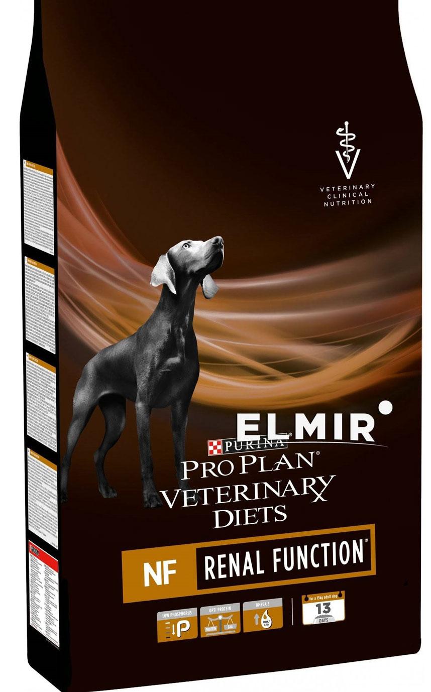 PRO PLAN VETERINARY DIETS NF RENAL FUNCTION CANINE FORMULA лечебный сухой корм для собак с почечной недостаточностью