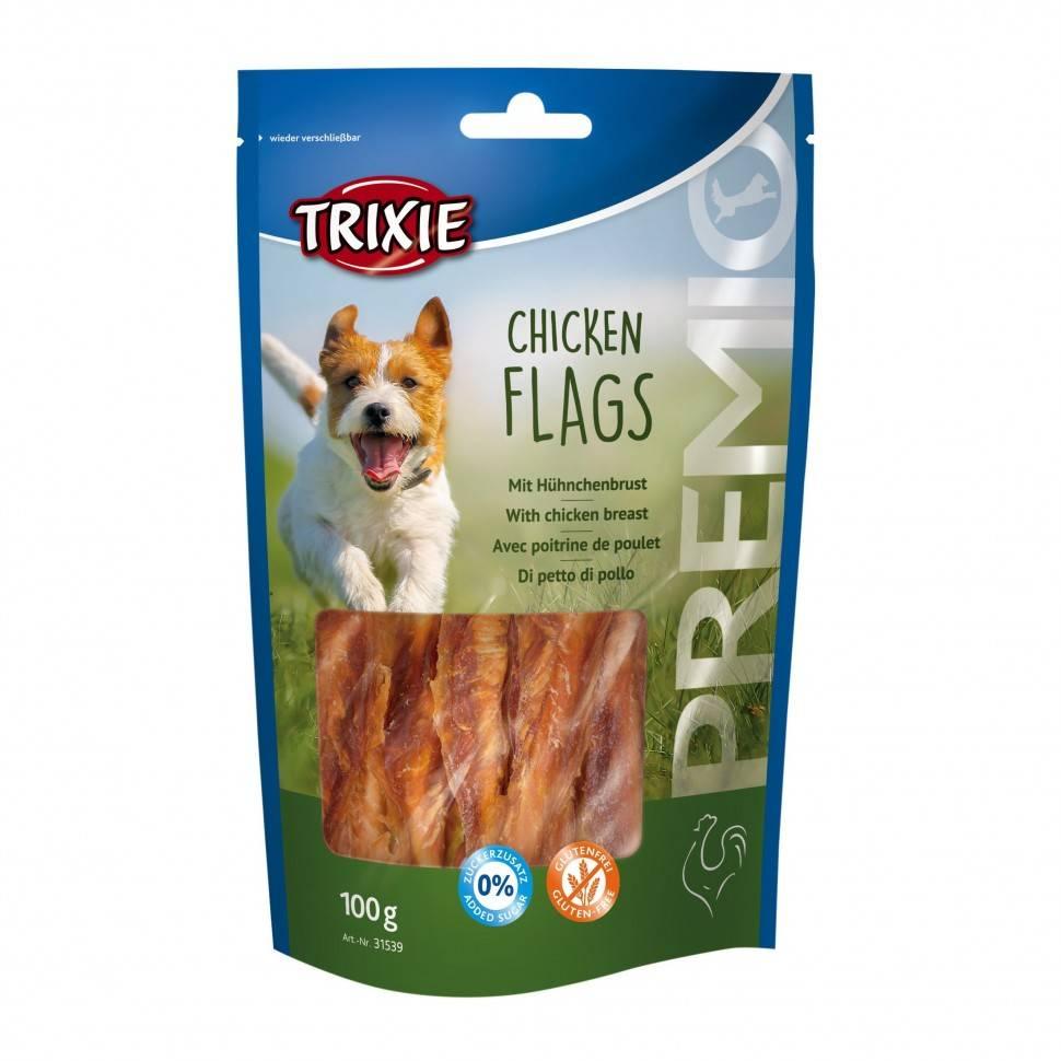 Trixie Premio Chicken  Flags – лакомство с курицей для собак