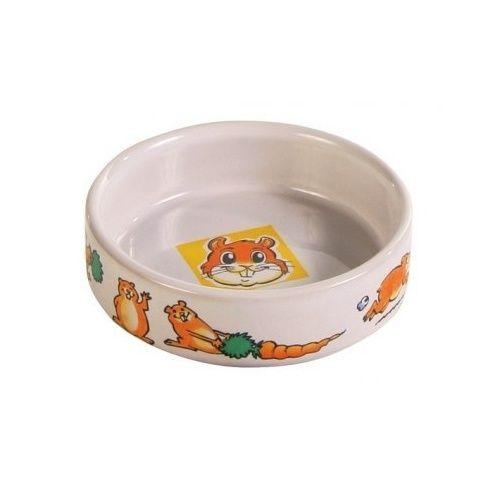 Trixie з малюнком керамічна миска для хом'яка
