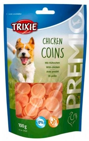 Trixie Premio Chicken Coins – лакомства с курицей для собак