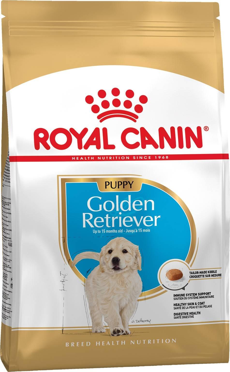 ROYAL CANIN GOLDEN RETRIEVER PUPPY – сухой корм для щенков породы золотистый ретривер