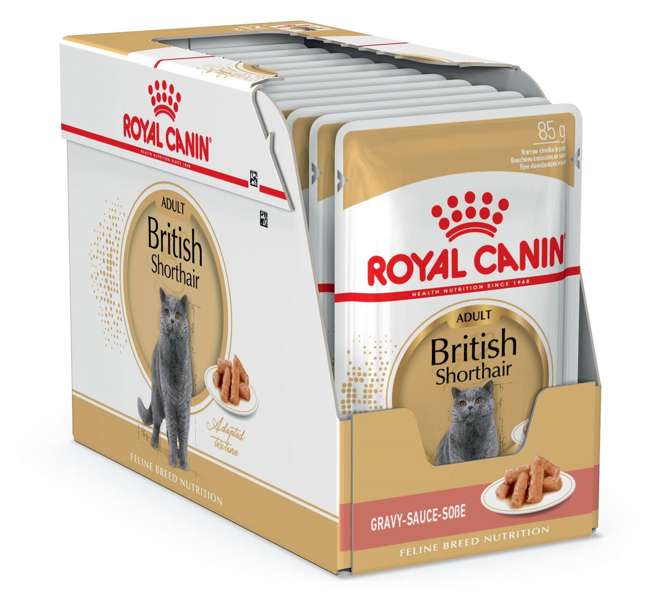 ROYAL CANIN BRITISH SHORTHAIR ADULT – вологий корм для дорослих котів породи британська короткошерста