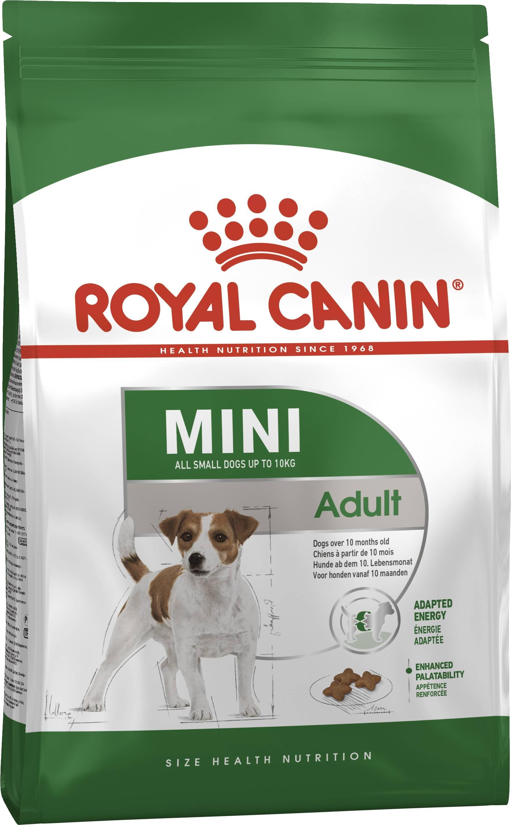 ROYAL CANIN MINI ADULT – сухий корм для дорослих собак дрібних порід