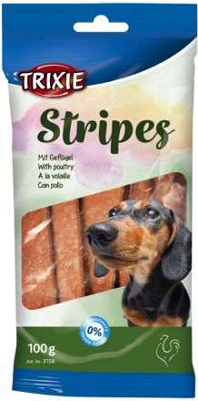 Trixie Stripes Light лакомство с мясом птицы для собак