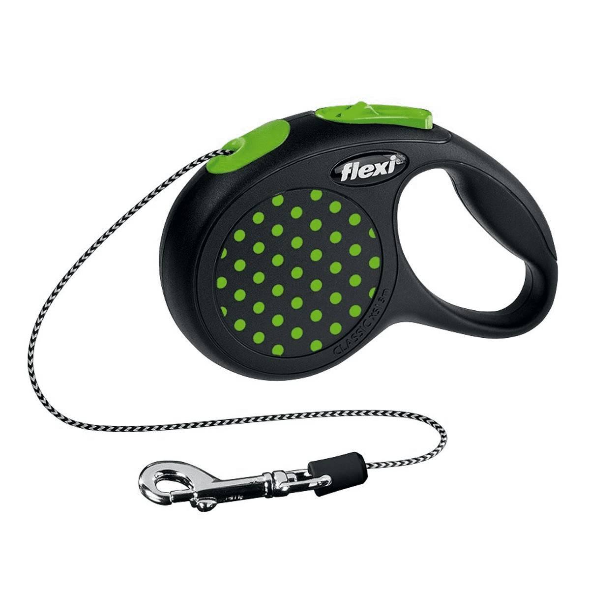 Flexi Design XS – поводок-рулетка для котов и собак весом до 8 кг