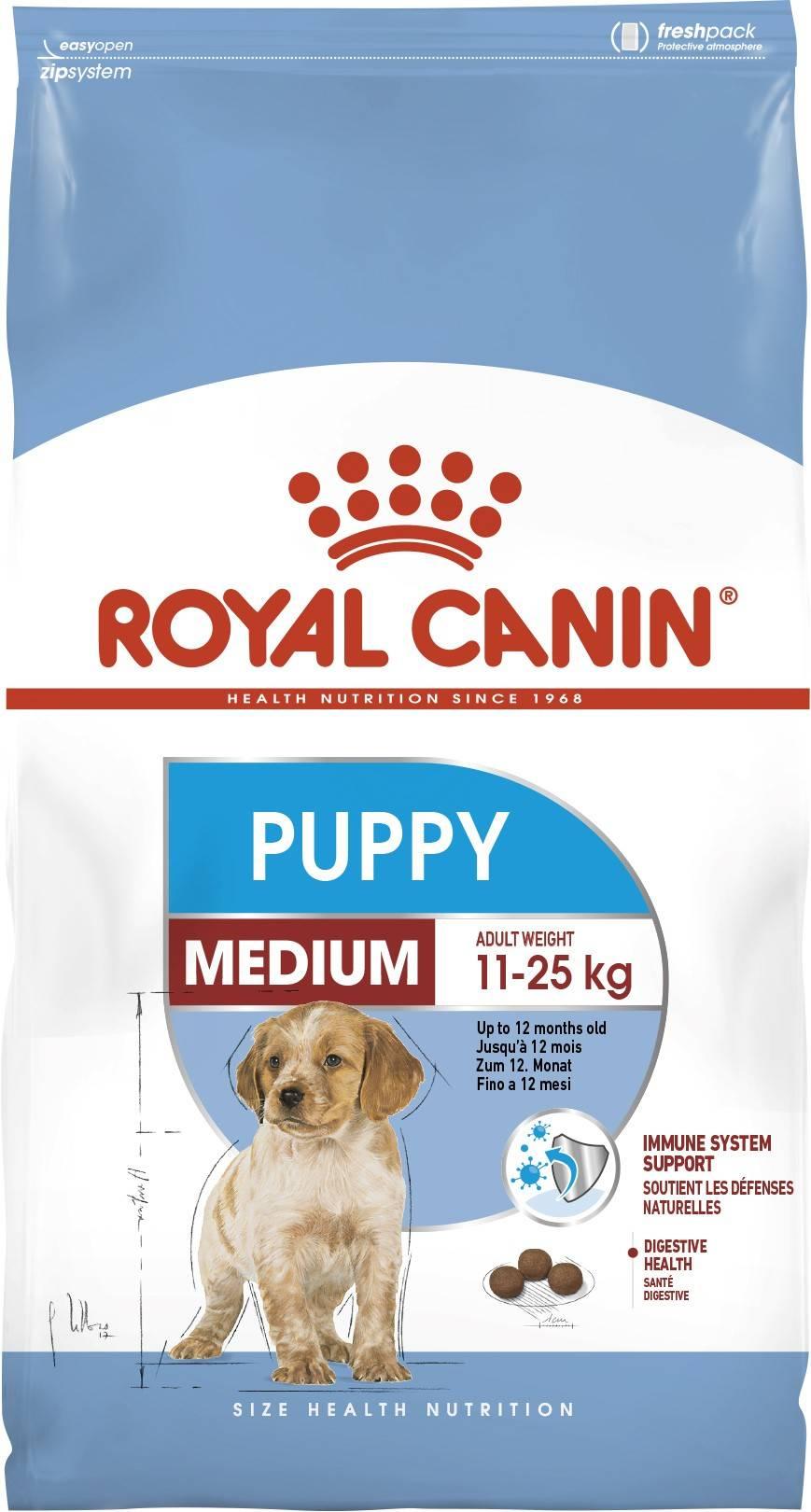 ROYAL CANIN MEDIUM PUPPY – сухой корм для щенков средних пород