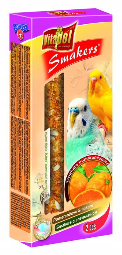 Vitapol ласощі для папуг з апельсином