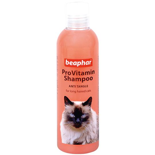 Beaphar ProVitamin Shampoo ANTI TANGLE – шампунь від ковтунів для котів з довгою шерстю