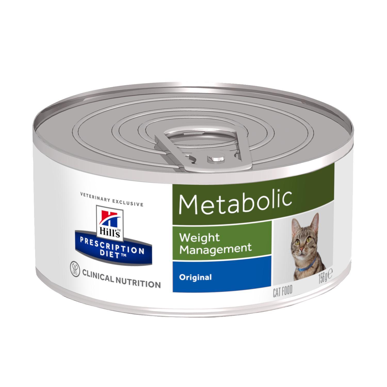 HILL'S Prescription Diet Feline Metabolic – лечебный влажный корм для котов с лишним весом