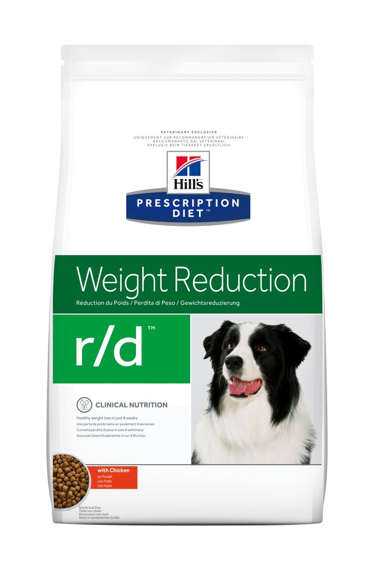HILL'S PRESCRIPTION DIET R/D WEIGHT REDUCTION – лечебный сухой корм для собак для снижения избыточного веса