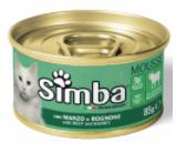 Simba Cat Mousse - мус із яловичини та нирок для дорослих котів
