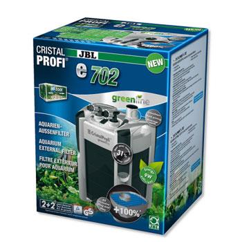 JBL CristalProfi e702 GreenLine – зовнішній фільтр для акваріума 60 – 200 л