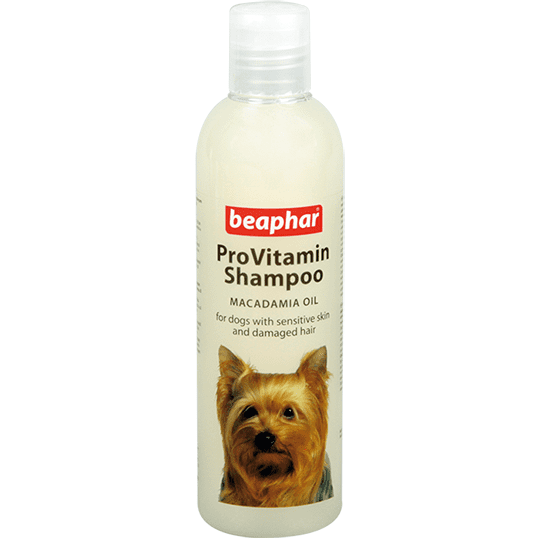 Beaphar ProVitamin Shampoo Macadamia Oil шампунь с маслом макадамия для собак с чувствительной кожей или поврежденной шерстью