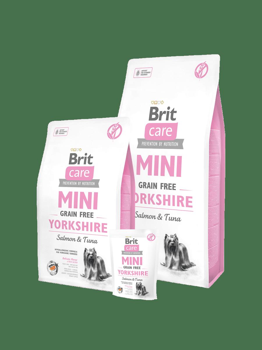 BRIT CARE MINI GRAIN FREE YORKSHIRE – сухий корм для собак породи йоркширський тер'єр