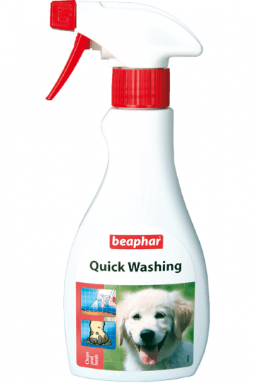Beaphar Quick Washing – экспресс-шампунь для быстрой очистки животных
