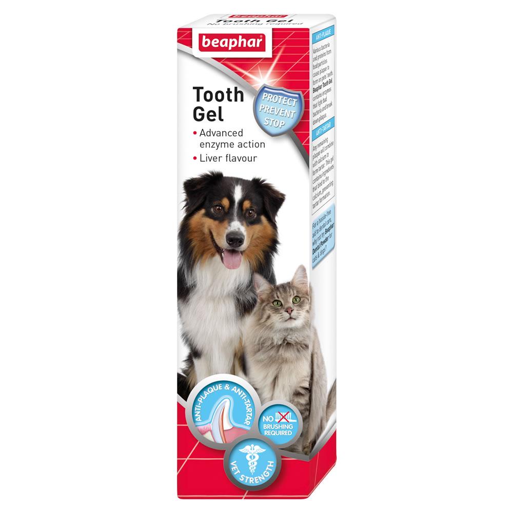 Beaphar Tooth gel – гель для чищення зубів для котів і собак