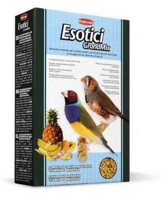 Padovan GrandMix Esotici – корм для экзотических птиц