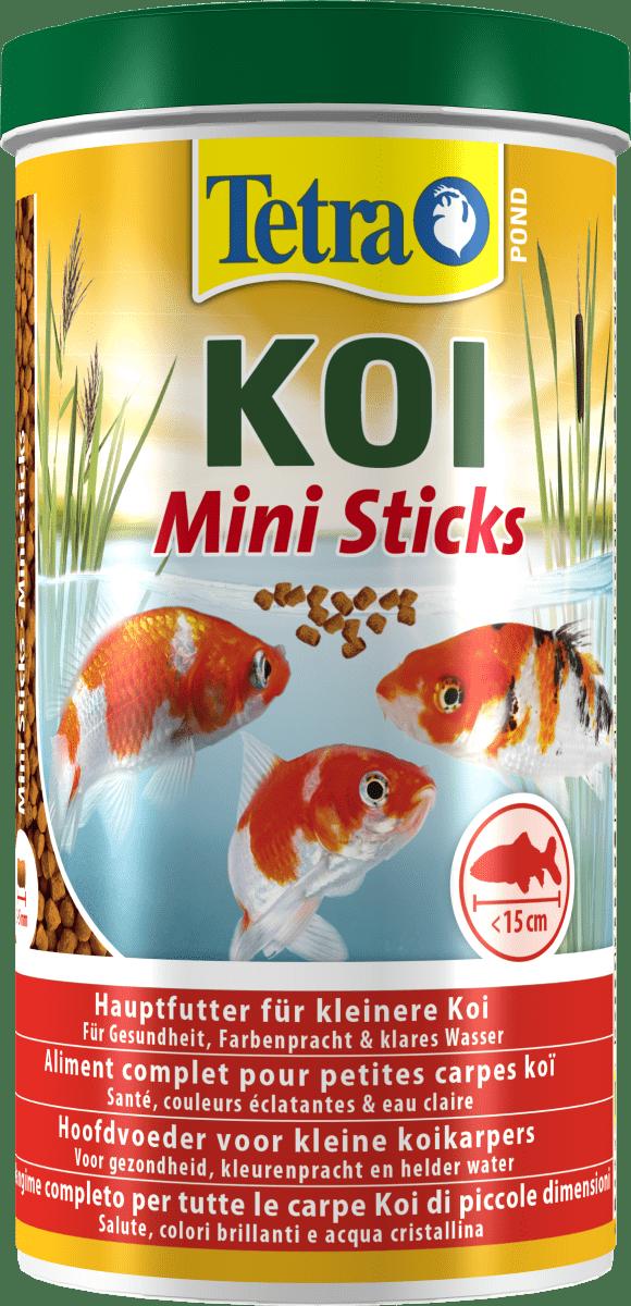 Tetra Pond Koi Sticks Junior –корм для ставкових риб в паличках