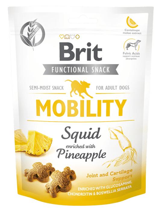 BRIT CARE MOBILITY SQUID – лакомства для собак для суставов и хрящей