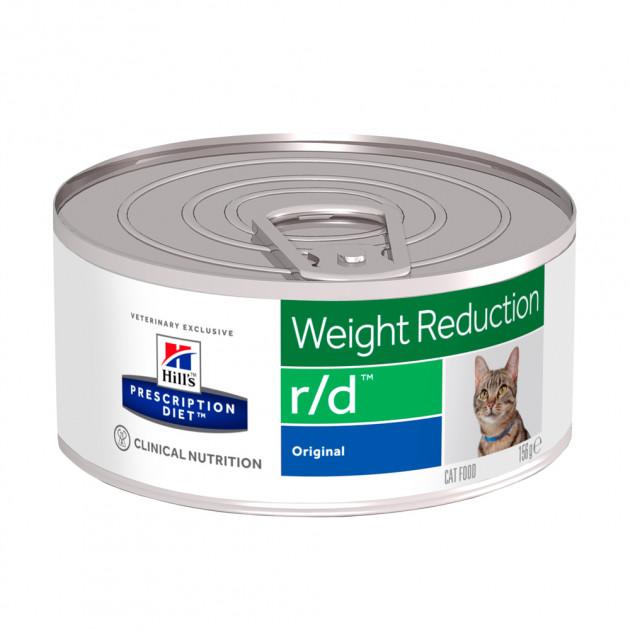 HILL'S Prescription Diet Feline R/D – лікувальний вологий корм для котів із зайвою вагою