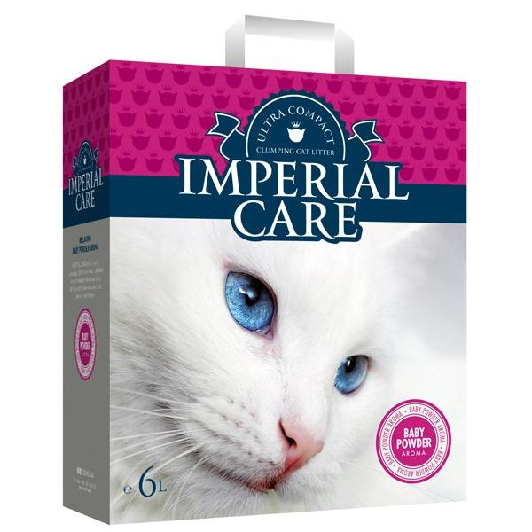 IMPERIAL CARE BABY POWDER – ультра-комкующийся наполнитель с ароматом детской пудры