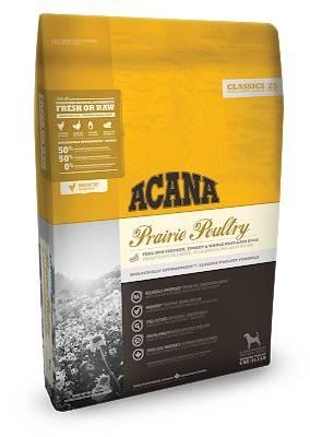 ACANA Prairie Poultry – сухий корм з куркою та індичкою для собак