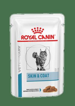 ROYAL CANIN Skin & Coat Formula – корм консервированный полнорационный для взрослых кошек старше 12 месяцев