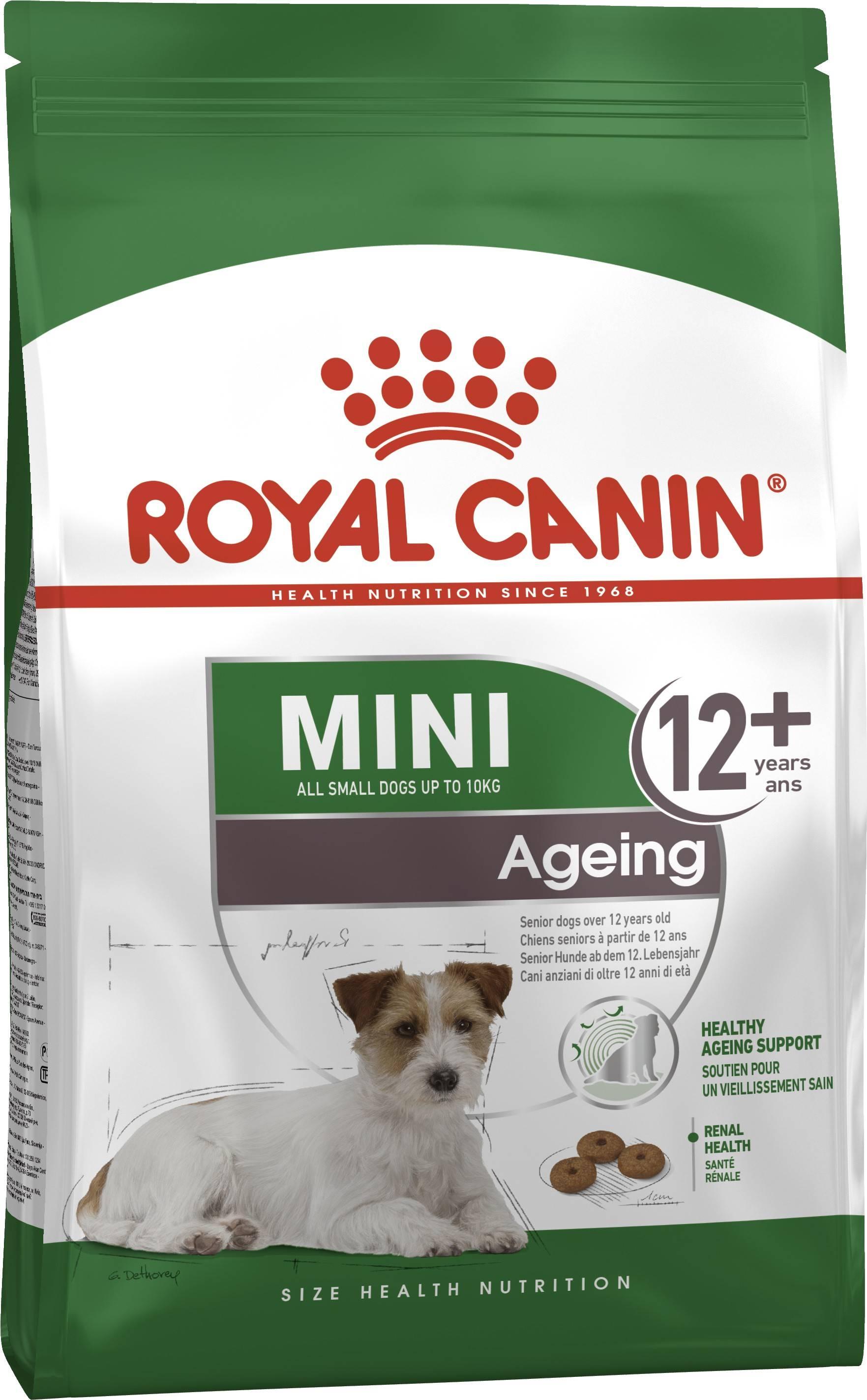 ROYAL CANIN MINI AGEING 12+ – сухой корм для собак мелких пород старше 12 лет