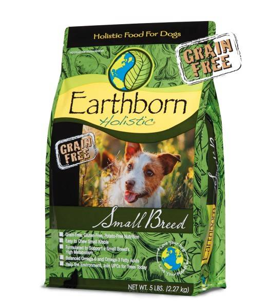 EARTHBORN HOLISTIC SMALL BREED – сухой холистик корм для собак малых и миниатюрных пород